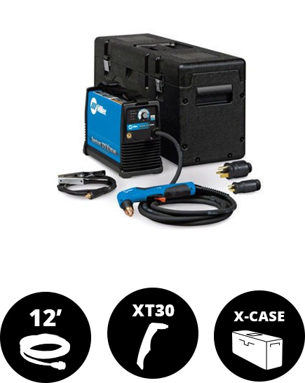 Miller Spectrum 375 X-Treme 907529 Build with Blue Holiday Savings