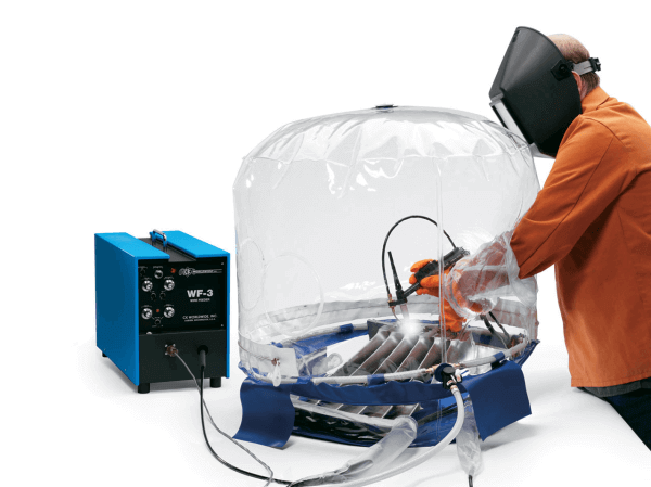 CK Flexible Purge Chamber. #PC2000-24 In Use