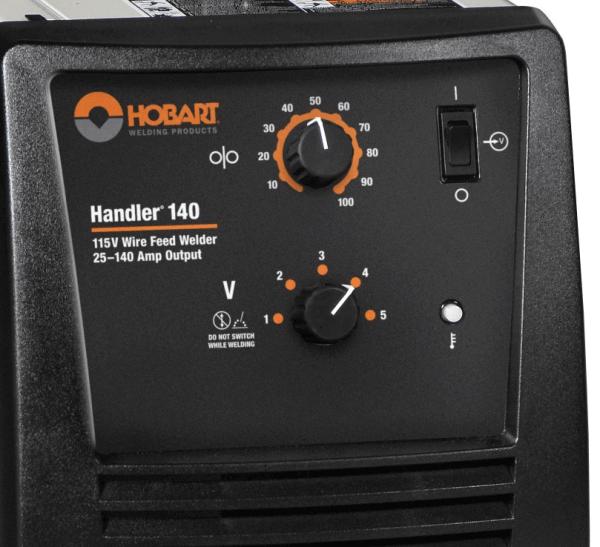 Hobart Handler 140 Welder #500559   Hobart Handler Welder ...