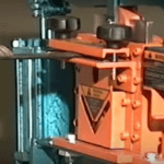 Metalpro #MP4000 Ironworker for cutting flat bar