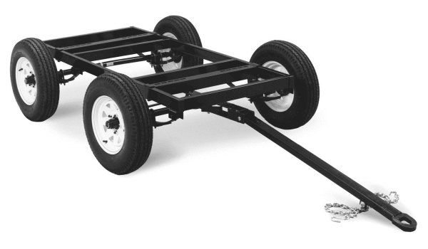 Miller 4 West Four-Wheel Steerable Off-Road Trailer #042801