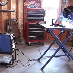 Miller 30FX Welding Table #300837