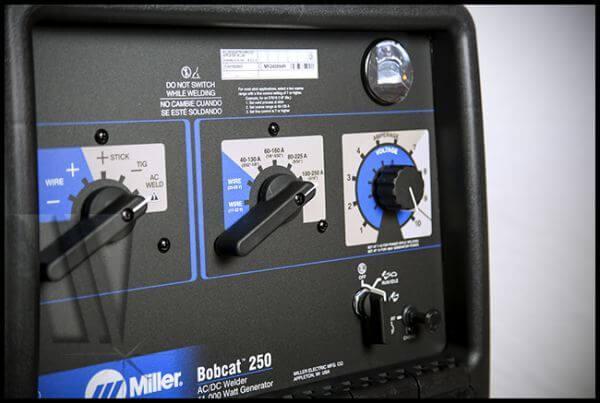 Miller Welders For Sale >> Miller Bobcat 250 #907500001 FREE helmet FREE gloves FREE ...