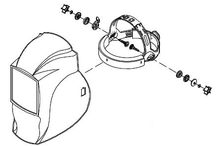 miller coolbelt welding helmet headgear with integrated cooling, wiring diagram