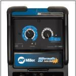 Millermatic 212 Auto-Set Front Panel