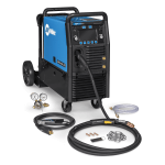 Millermatic 255 MIG/Pulsed Welder w/ EZ-Latch™ Running Gear 951766