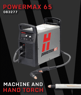 hypertherm powermax 65 machine torch