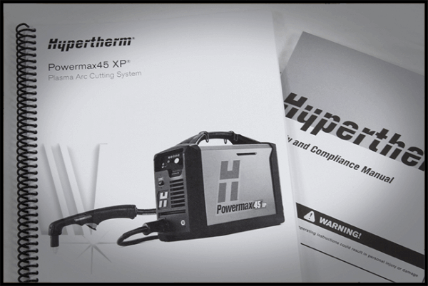 Hypertherm Powermax 45 Xp 088112 Plasma Cutter Ships