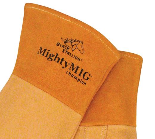 1 Pair Revco 39CHMP-XL Black Stallion Mighty Mig Welder Glove by Revco X-Large Premium Grain