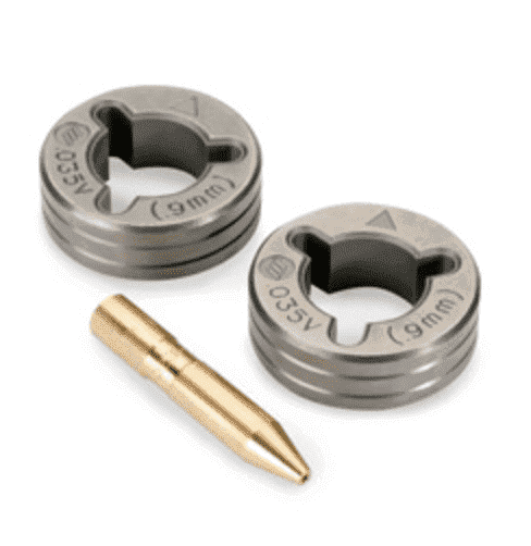 Miller .035 V-Groove Drive Roll Kit — for Solid Wire #079595