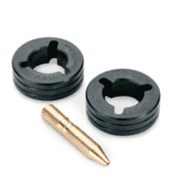 Miller .035 V-Knurl Drive Roll Kit — for Flux Cored Wire #079606