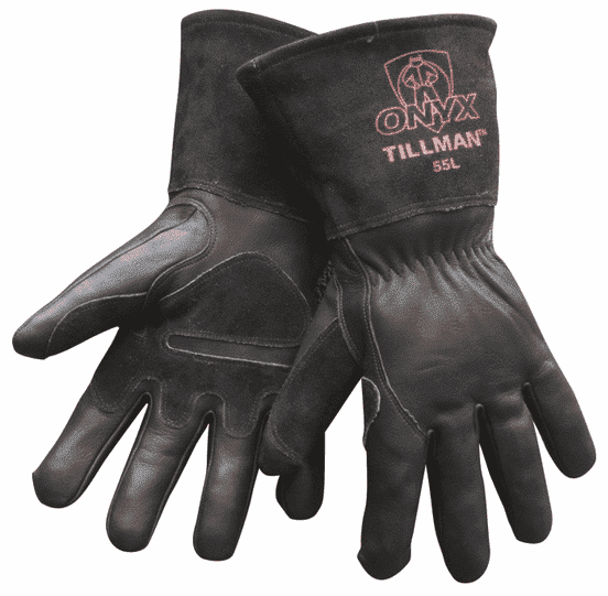 Tillman Cowhide Mig Gloves (Onyx) Part#55