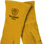 Tillman Cowhide Stick Gloves (Three finger) Part #1203L for Sale Online