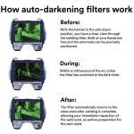 Speedglas 9100XX Auto Darkening Welding Helmet Filter Shades