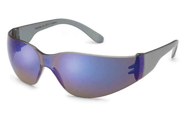 StarLight Safety Glasses - Blue Mirror Lenses