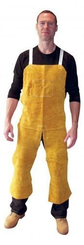Tillman Split Leg Leather Bib Apron #4348