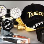 Tweco Fabricator 141i Welding Machine Regulator and Accessories