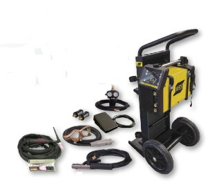 ESAB ET 220i AC/DC HF TIG with Trolley W1009302  For Sale