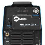 Miller® XMT® 350 CC/CV MIGRunner® with 20 Series Wire Feeder #951786 Back View
