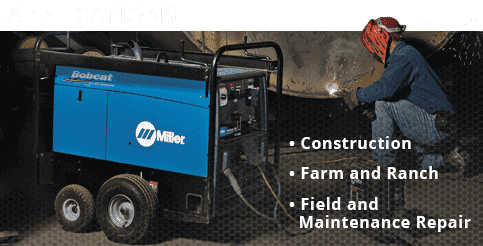 Miller Bobcat Gas Welder For Sale