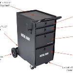 Metal Man Deluxe Welding Cart DWC1