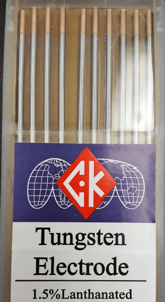 CK Tungsten 1.5% Lanthanated (Gold) #T1167GL for Sale Online