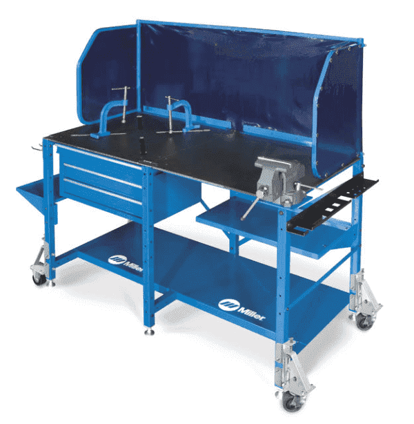 60sx Arcstation Workbench 951413 Portable Welding Tables Welding Bench Welding Table