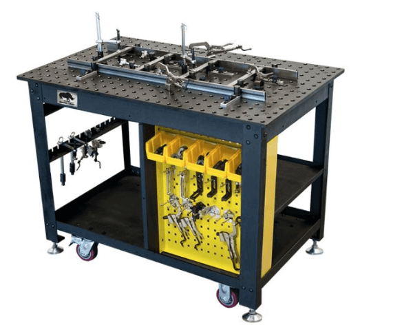 Portable Welding Table StrongHand Rhino Cart Package TDQ54830K1