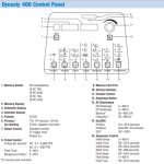 Miller Dynasty 400 Foot Control Complete Package #951694 control panel