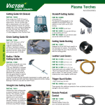 Circle Cutting Tool Guide Victor Technologies #7-8910