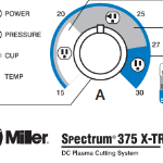 Control Panel Miller Spectrum 375 X-Treme 907529 Build with Blue Holiday Savings