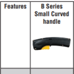 Bernard B Series Small Curved Handle BTB MIG Welding Gun #Q3015AE8HMC Features
