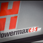 Hypertherm Powermax 45 XP #088124 Hand System w/ CPC 75 & 15 deg Torches - 20