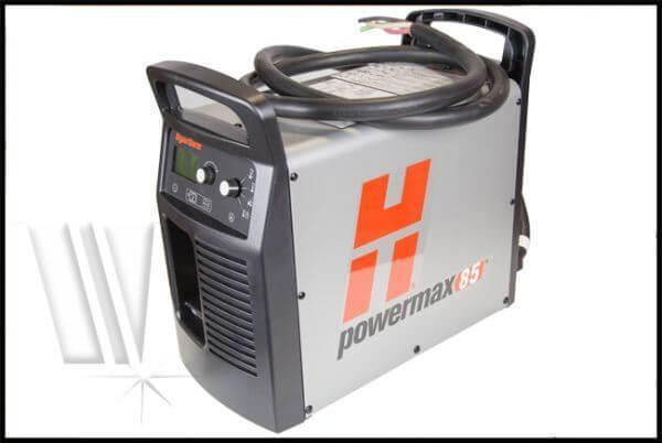 hypertherm powermax 85 machine torch