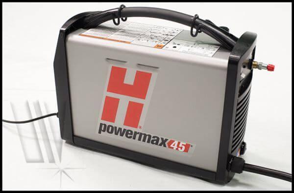 hypertherm powermax 45 machine torch