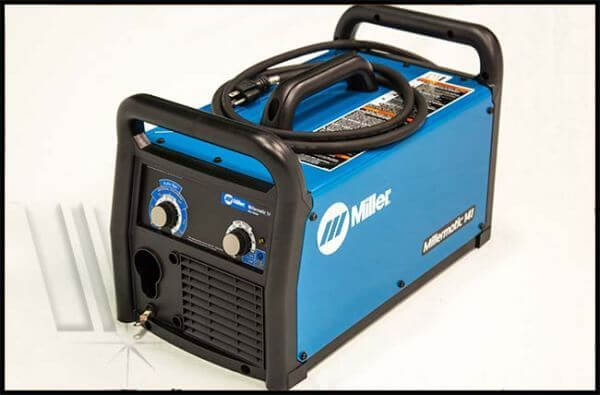 Mig Welder For Sale >> Millermatic 141 #951601 Cart With Free Gloves ...