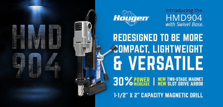 Hougen Swivel Base Magnetic Drill