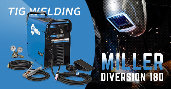 Miller Diversion 180 AC/DC TIG Welder for Sale