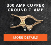 Tweco 300 Amp Copper Ground Clamp Part #GC-300