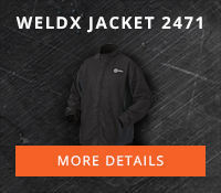 WeldX Jacket #2471 for combined performance and protection