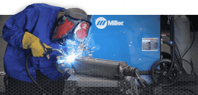 Miller Bobcat 250 applications welding machine