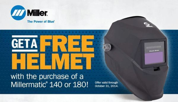 Free Helmet with Purchase