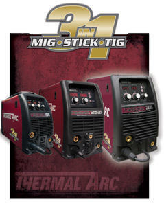 Thermal Arc 3 in 1 welding systems