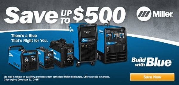 Build with Blue Rebate Sale Discount Program