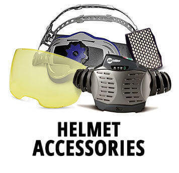 Welding Helmet Accessories for Miller, Jackson, 3M Speedglass, Optrel and ESAB welding helmets