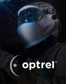 Optrel autodarkening welding helmets and accessories